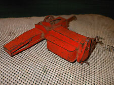 1956 Carter Tru Scale 1/16 Pressed Steel Farm Tractor Toy Hay Baler