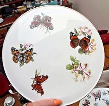 "Royal Worcester Butterflies Butterfly 11"" Gateau Plate"
