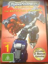 Transformers Energon - The Battle For Energon : Vol 1 (DVD, 2005) *USED   *