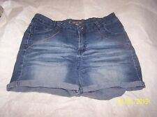 Young Ladies demin Shorts Size 16 in Great Shape