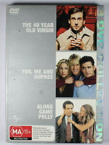 40 Year Old Virgin / You Me and Dupre / Along Came Polly DVD FREE POST