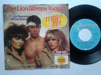 "Tight Fit / The Lion Sleeps Tonight 7"" Vinyl Single 1982 mit Schutzhülle"