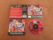 CAPCOM VS SNK PRO SONY PLAYSTATION 1 PS1 PS2 PS3 GAME WITH MANUAL UK PAL VGC