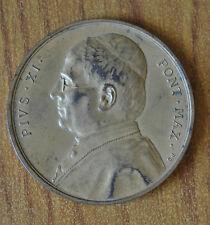 MEDAGLIA VATICANO PIO XI 1922 1939 SUBALPINA