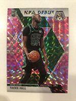 2020 Panini Mosaic Basketball Tacko Fall NBA Debut Pink Camo Mosaic Prizm