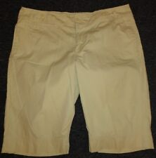 Route 66 Pale Yellow Cotton Shorts - Size 15/16