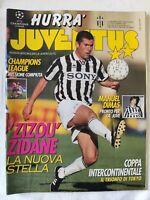 HURRA' JUVENTUS 12 - 1996 VITTORIA COPPA INTERCONTINENTALE ZINEDINE ZIDANE