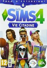 SIMS 4- CITY LIFE - VIE CITADINE -JEU PC GAME- NEW & SEALED- Fast Ship!