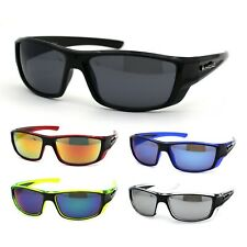 Gangster Mens Biohazard Rectangular Biker Plastic Sunglasses