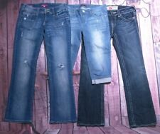 Lot of 3 Women's Jeans 29 7/8 Capris and Jeans Vigoss
