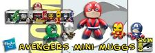 SDCC 2011 Hasbro Exclusive: Marvel - THE AVENGERS Mini Muggs Vinyl Figures 5-pk