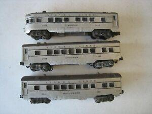 Lionel Lines Passenger Cars Maplewood 2421 Chatham 2422 Hillside 2423 #TR16