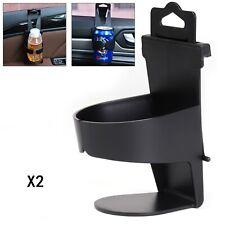 Qiundar Portavasos Coche Universal 3 Pcs Portavasos Plegable Car Cup Holder Portavasos De Agua para Coche Negro, Gris, Beige