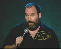 COMEDIAN TOM SEGURA SIGNED AUTHENTIC 8x10 PHOTO 8 w/COA ACTOR STAND UP PROOF