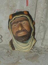 Bossons chalkware head arab -Youssef.....1970