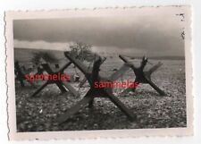 WK2 Foto Waldwisse Saar Moselle Panzersperren Grenze Westwall Maginot Linie 305