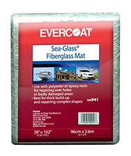 Fibreglass Evercoat FGE 941 Fiberglass Matting - 3 Square Yards  FREE SHIPPING !