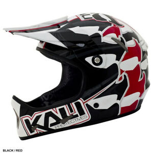 Large  Carbon Composite super lite KALI Avatar Downhill Helmets various graphics