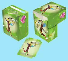 MY LITTLE PONY DISCORD Full View DECK BOX NEW Ultra Pro Card Storage Case 84545