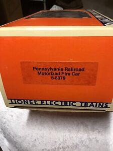 LIONEL 6-8379 PENNSYLVANIA RAILROAD MOTORIZED FIRE CAR