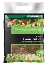 Dennerle Nano Garnelenkies Borneo braun 2 kg Aquarienkies