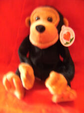 """PG CHIMP MONKEY PG TIPS - FOR TEA LOVERS ONLY SOFT TOY 9"""" VGC NEW IN SEALED BAG"""