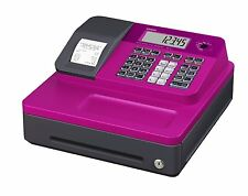 Casio SE-G1SC-PK Thermal Printing 8 Clerk Cash Register Pink LCD Large Font