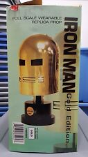 Iron Man Helmet Prop Replica Sideshow Collectibles, Gold Edition