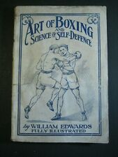 Rare 1888 ✅ Antique Book_Art Of Boxing With Gloves_Science Self-Defense_Pictures