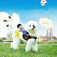 Pet Cat Dog western cowboy rider Clothes Clothing Cosplay Costume Party New N