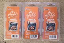3 x PACKS GLADE WAX MELTS, FRAGRANCE: PUMPKIN PITSTOP, HALLOWEEN, 66G