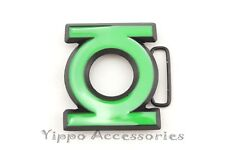 Green Lantern Logo DC Metal Fashion Belt Buckle