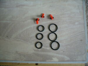 Lot (3) Fishing Rod Red Easy EZ Hook Keeper Holder Adjustable