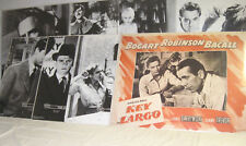 """Classic Movie Posters 22"""" x 28"""" Black and White, Key Largo with color New"""