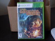 Cabela''s Dangerous Hunts 2011 Xbox 360 New Xbox 360, Xbox 360
