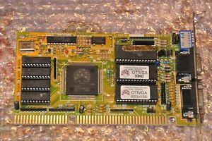 ISA Grafikkarte Oak Technology OTI-067 1MB RAM - top für 386, 486, DOS etc.