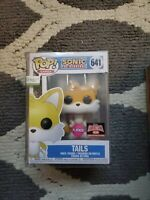 Funko Pop Tails Flocked Target Con Exclusive New Sealed 641 Sonic