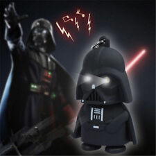 Fashion Cool Light Up LED Star Wars Darth Vader With Sound Keyring Keychain Gift