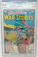STAR SPANGLED WAR STORIES #18 ~ DC 1954 ~ CGC 8.0VF