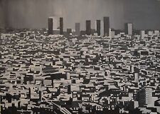 THE CITY By Mario Salazar. Acrylic on Paper