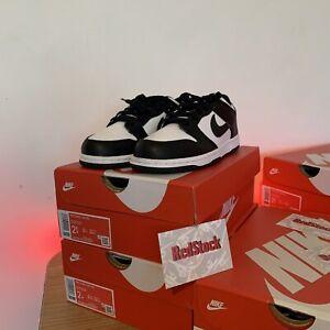 Nike Dunk Low White/Black Size UK 1