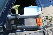 Carrichs | 2008-2016 Ford F-250 / F-350 Super Duty CHROME Mirror Covers