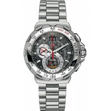 AUTHENTIC TAG HEUER FORMULA 1 CAH101A.BA0854 INDY 500 CHRONOGRAPH GRAY WATCH