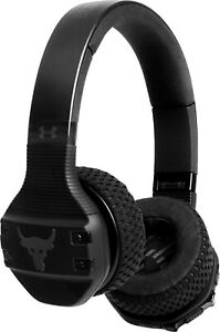 New JBL - Under Armour Project Rock Wireless Over-the-Ear Headphones - Black