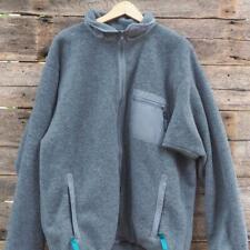 Vintage Patagonia Mens Gray Fleece Pile Windstopper Jacket XL Made USA