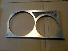 Custom Titanium 8v 16v 3D Headlight Trims Fitted Grille Lancia delta integrale