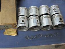 """.080/"""" oversize Ford Mercury 255 Flathead V8 Coated Skirt Pistons+Rings 1949-53"""