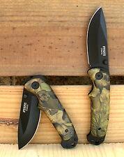 Couteau Camouflage type Armée militaire / Survie  Chasse  Pêche