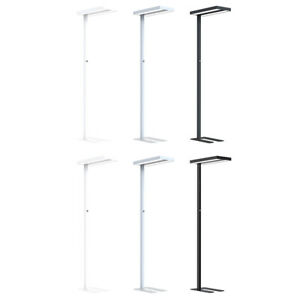 LED Stehleuchte Up & Down 2 x 40W 8800lm Büro Stehlampe 4000K UGR<17 dimmbar
