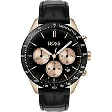 HUGO BOSS MENS CHRONOGRAPH TALENT WATCH HB1513580 BLACK DIAL RRP £299.00